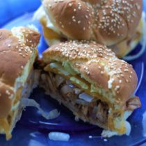 Easy BBQ Pulled Pork Sandwiches